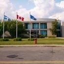 Vue extérieure du Centre des arts de Baie-Comeau
