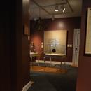 Salle du musée - accès en pente