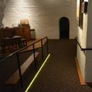 Salle du musée - rampe d'accès