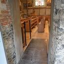 Accès à l'intérieur de la chapelle