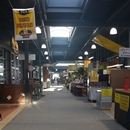 Corridor de circulation dans le marché