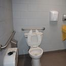 Cabinet de toilette unique - dans le marché