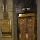Ascenseur dans le bâtiment pour se rendre aux toilettes