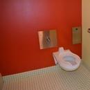 Cabinet de toilettes accessible