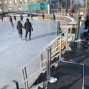 Accès principale pour la patinoire