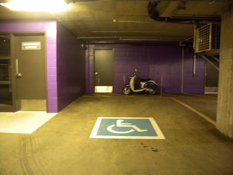 1 Stationnement intérieur