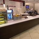 Comptoir de cafétéria du Presse Café
